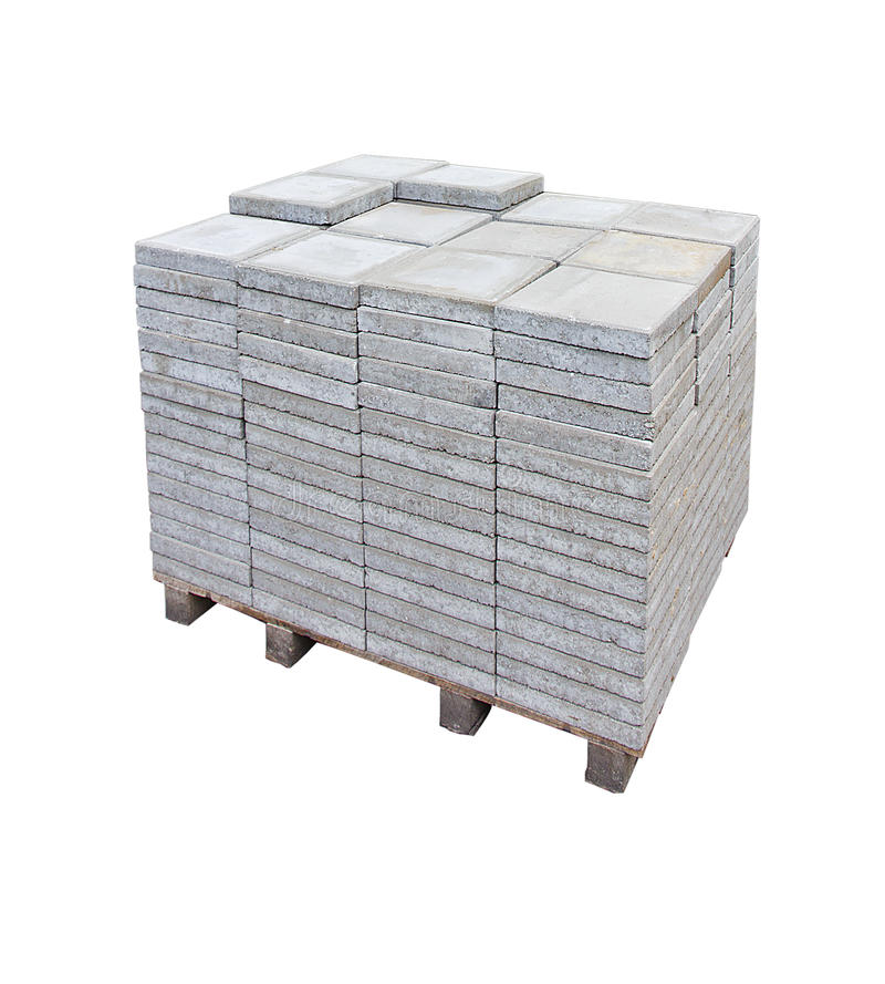 Download Pavement Tiles Pallet stock photo. Image of flooring - 25610724