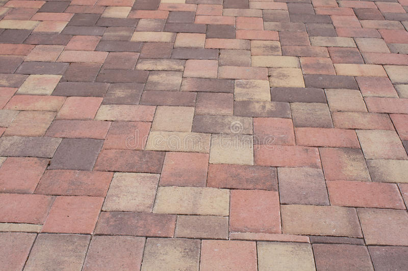 Paver and color stock photos