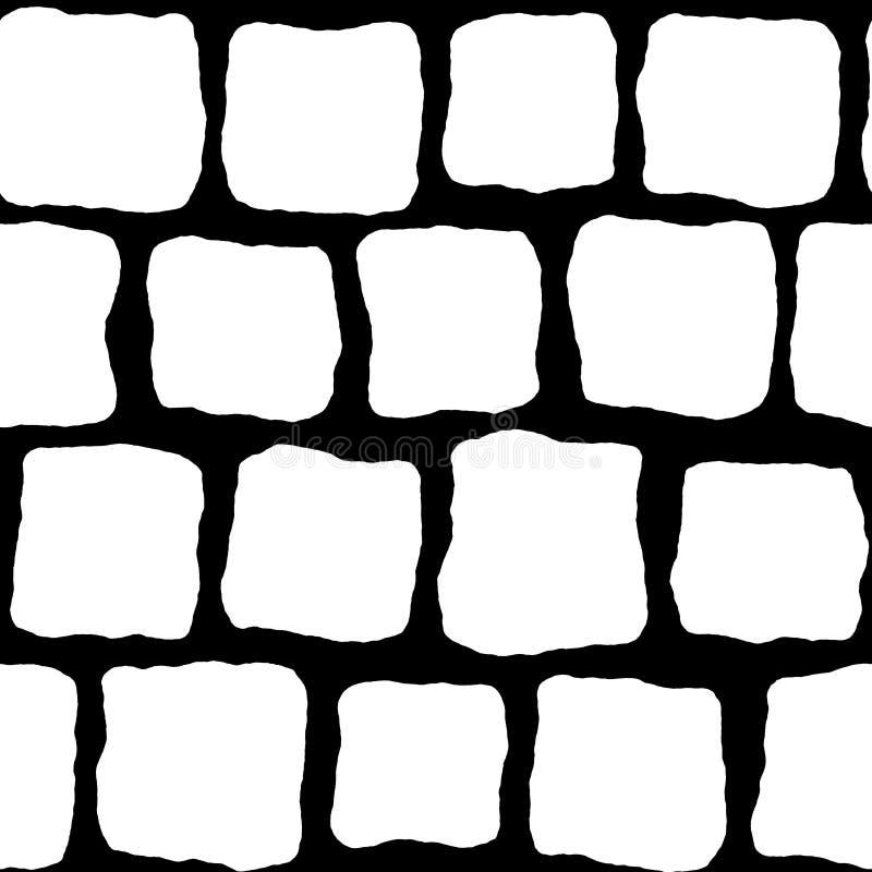 Pavers för kullersten S000 - bulaöversikt vektor illustrationer