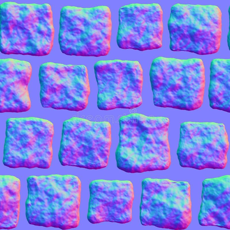 Pavers för kullersten S000 - normal översikt vektor illustrationer