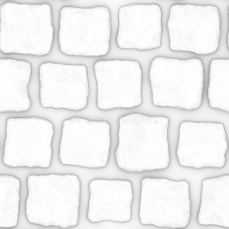 Pavers för kullersten S000 - omgivande översikt royaltyfri illustrationer