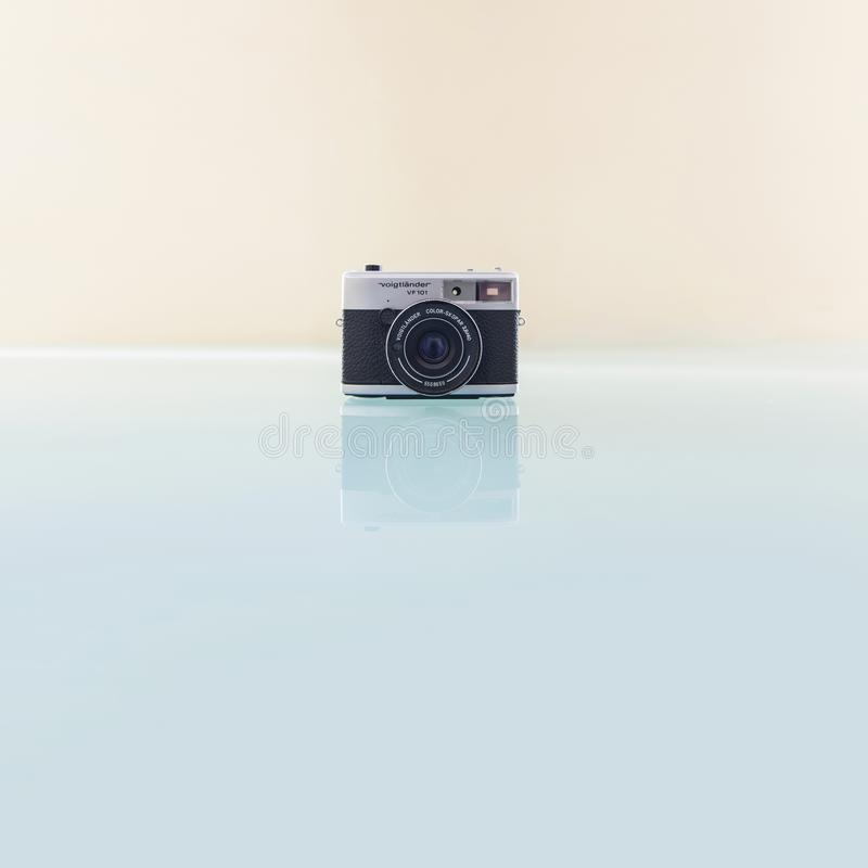 Voigtlander VF101 camera stock image