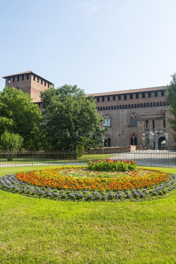 Pavia, kasteel royalty-vrije stock fotografie