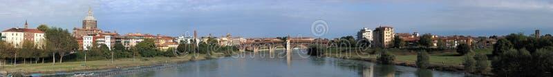 Pavia large panorama royalty free stock images
