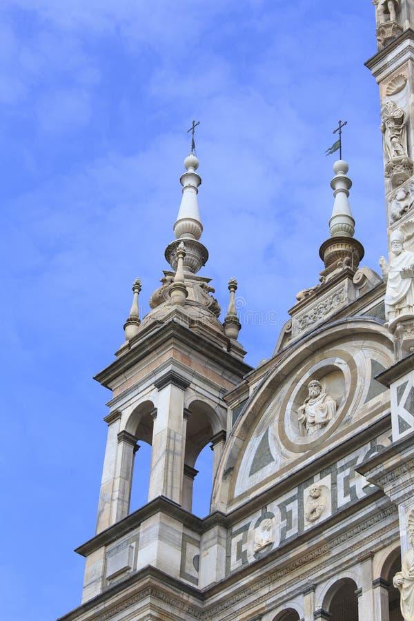 Pavia, los angeles Certosa fotografia royalty free