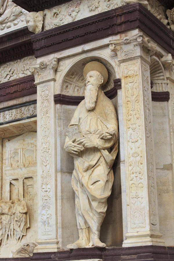 Pavia, los angeles Certosa zdjęcie royalty free