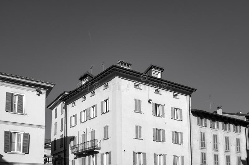 Pavia, stary widok miasto Pekin, china zdjęcia stock