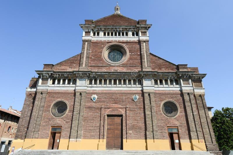 Pavia, Włochy: Renesansowa katedra zdjęcia royalty free