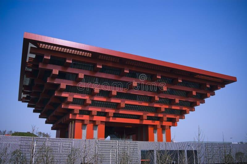 Pavilhão 2010 de China da expo de Shanghai fotografia de stock