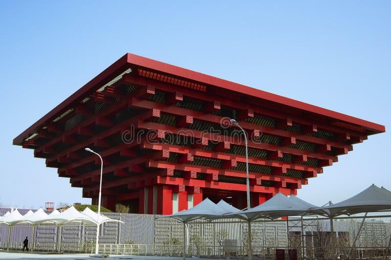 Pavilhão 2010 de China da expo de Shanghai fotografia de stock royalty free