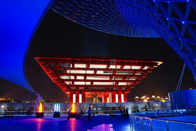 PAVILHÃO 2010 DE CHINA DA EXPO DE SHANGHAI imagens de stock