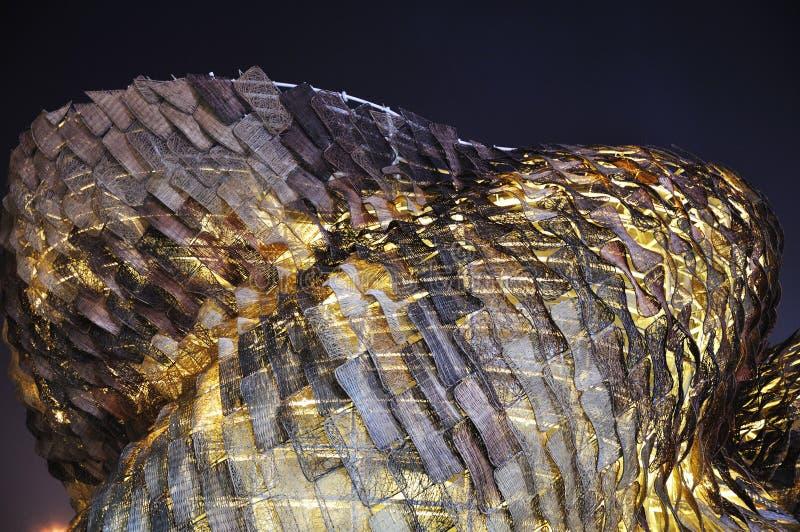 pavilhão 2010 de Spain da expo de shanghai imagens de stock royalty free