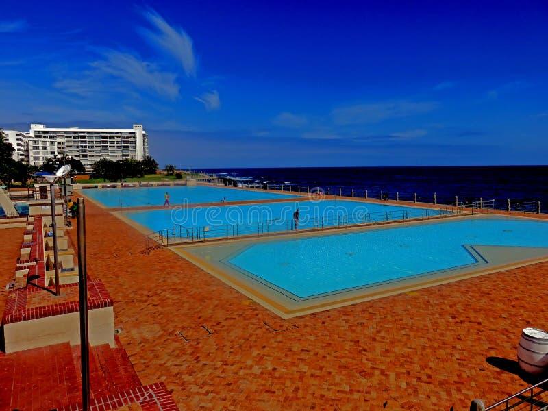 Pavilhão Cape Town do ponto do mar imagem de stock royalty free