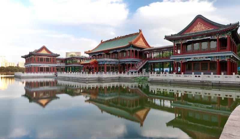 Pavilhão chinês fotos de stock