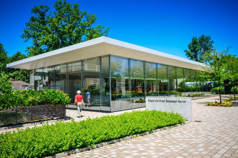 Pavilhão de Greenbatch - Darwin Martin House - búfalo, New York imagens de stock royalty free