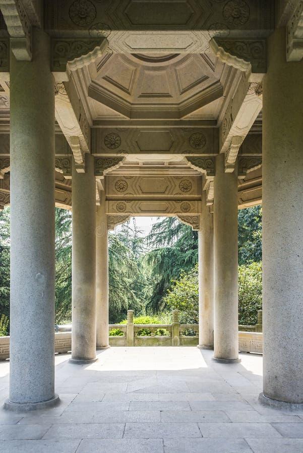 Pavilhão de Guanghua imagens de stock royalty free
