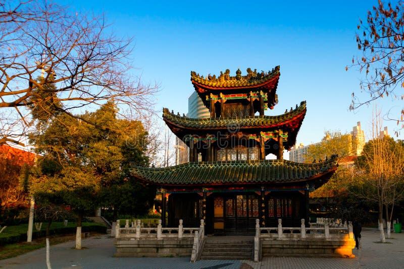 Pavilhão de Yugu na imitação Nanchang-diminuta foto de stock royalty free
