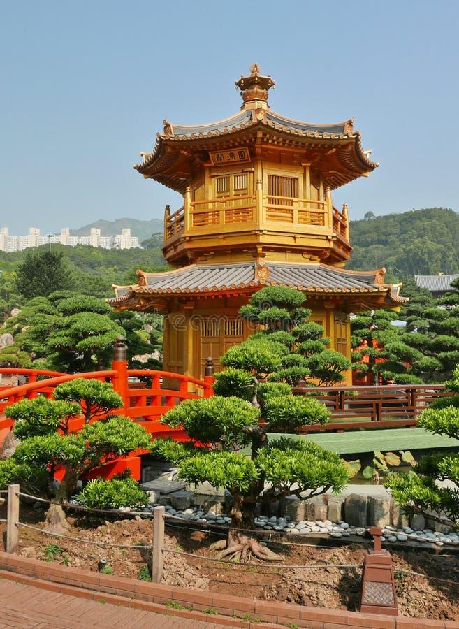 Pavilhão do chinês tradicional foto de stock royalty free