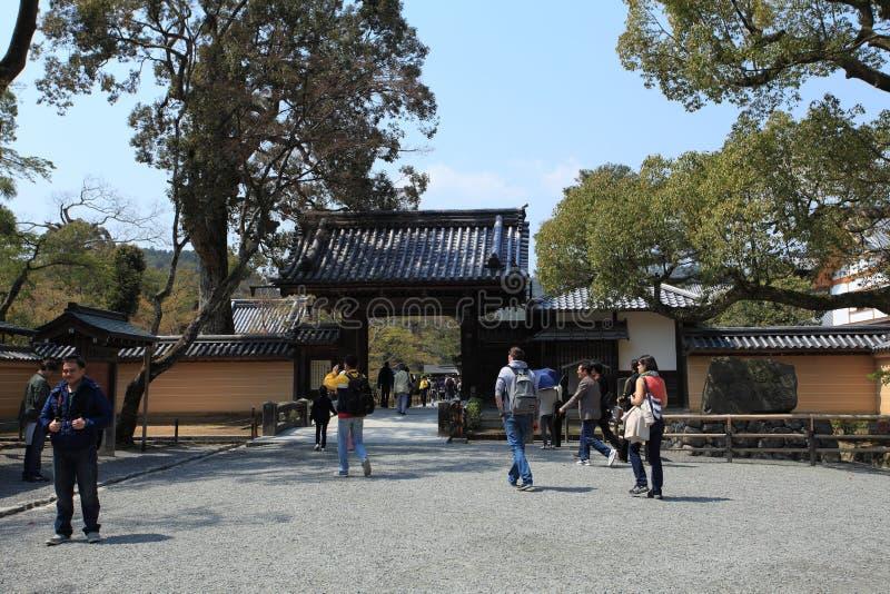 Pavilhão dourado, Japão foto de stock