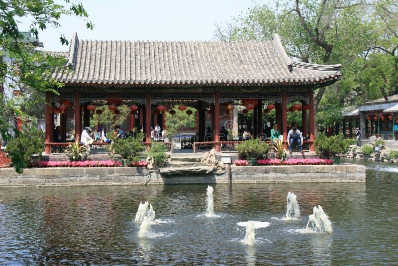 Pavilhão - príncipe Gong Mansion - Pequim - China (4) imagens de stock royalty free