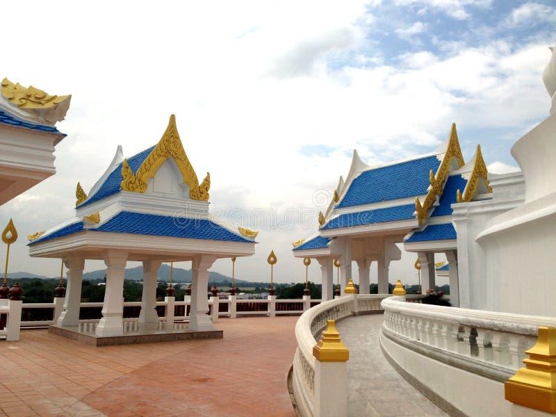 Pavilhão tailandês fotografia de stock