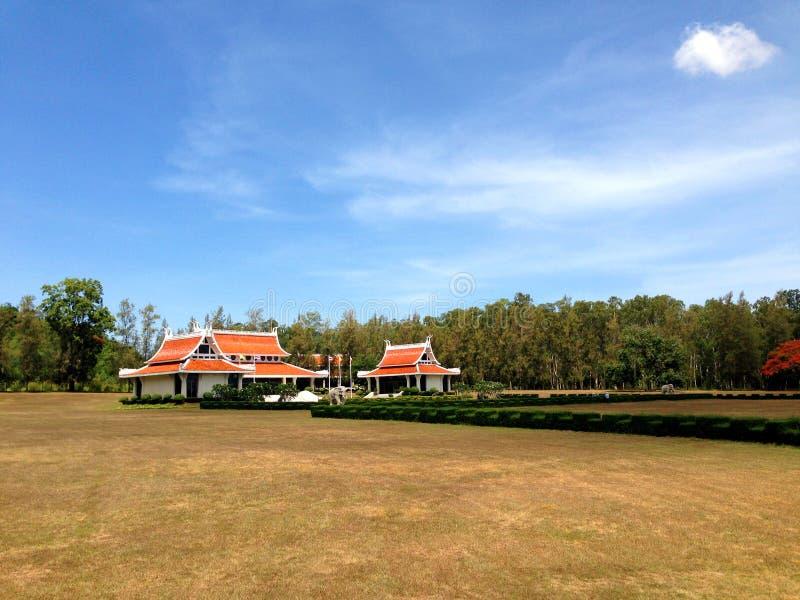Pavilhão tailandês imagem de stock royalty free