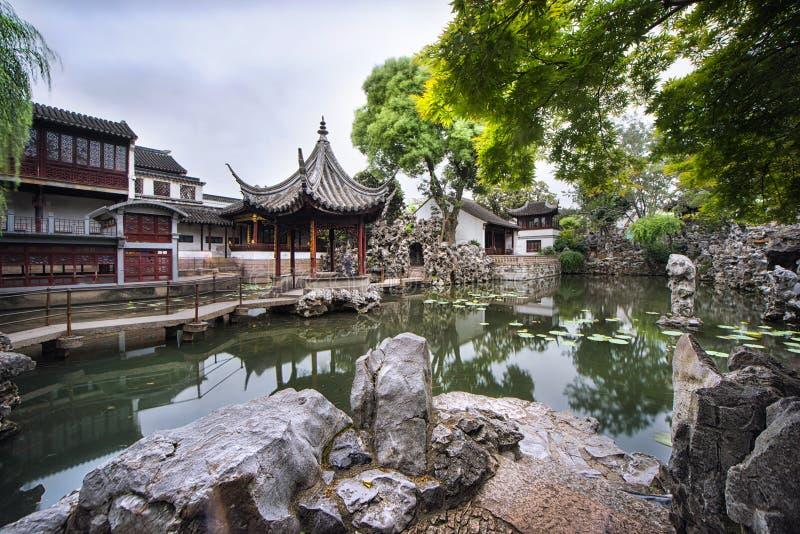 Pavilhões chineses imagem de stock royalty free