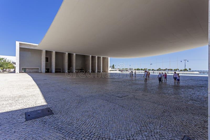 Pavilhao DE Portugal - Park van Naties - Lissabon stock foto's