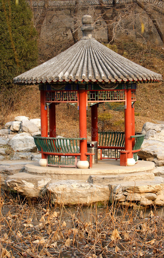 Download Pavilion stock image. Image of lakes, traditional, asia - 3881147