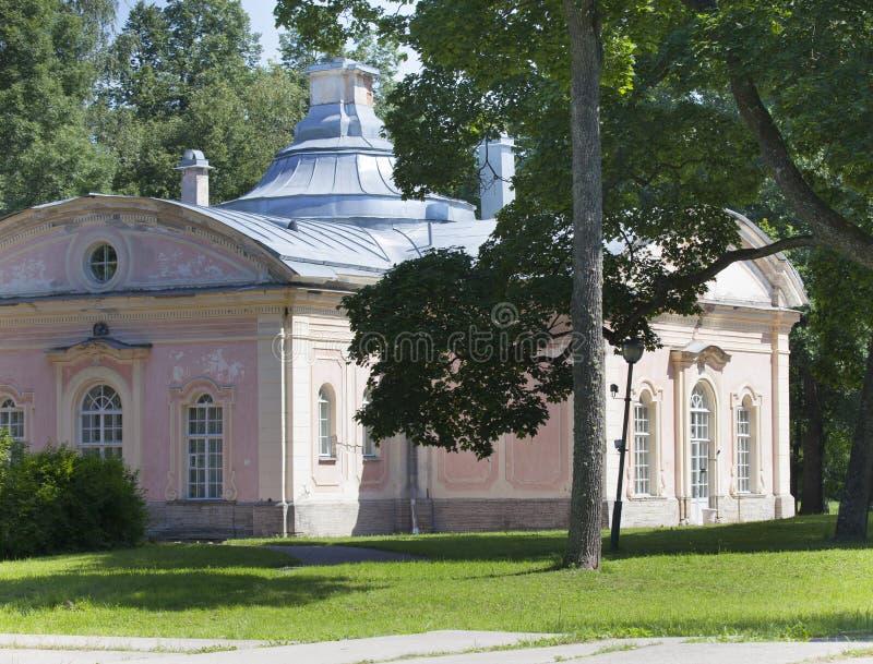 Pavilion Chinese cuisine. Oranienbaum (Lomonosov).  stock image