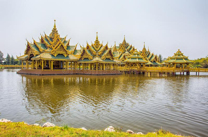 Pavilion of the enlightened in Ancient City Park, Muang Boran, Samut Prakan province, Thailand. Asia royalty free stock image