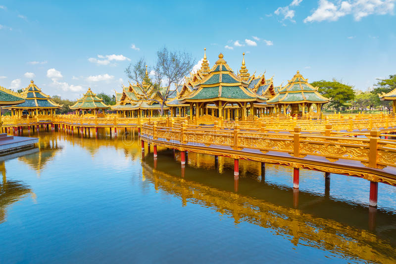 Pavilion of the Enlightened. In, Thailand royalty free stock photos