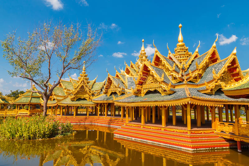 Pavilion of the Enlightened. In Thailand royalty free stock image