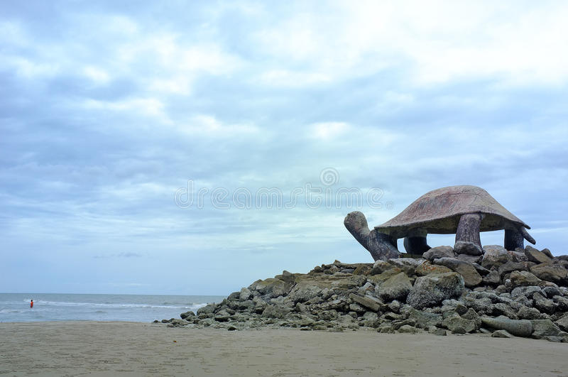 Download Pavilion turtle shape stock image. Image of outdoor, beach - 26084537