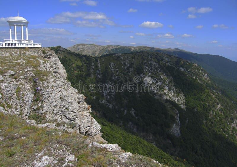 Pavilion of winds, Crimea stock photos