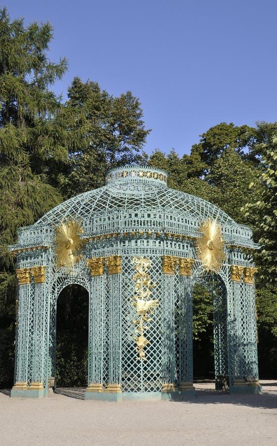 Paviljoen van Sanssouci in Potsdam, Duitsland royalty-vrije stock foto's