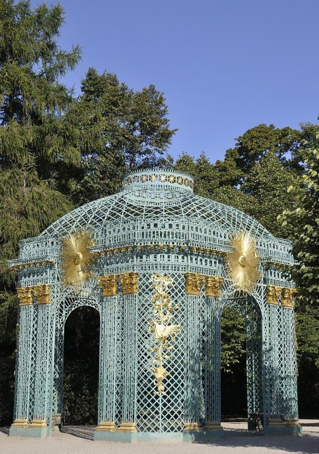 Paviljoen van Sanssouci in Potsdam, Duitsland royalty-vrije stock foto