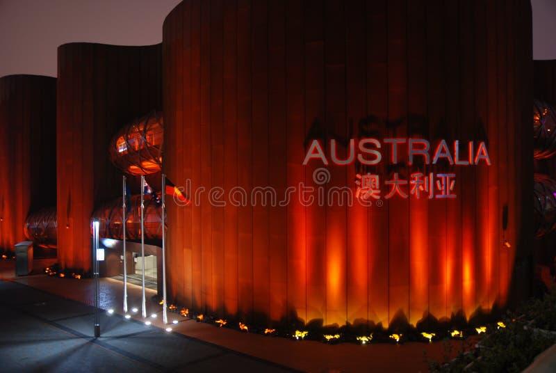paviljong 2010 för Australien porslinexpo shanghai royaltyfri fotografi