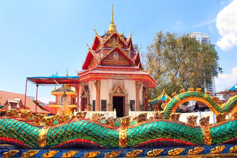 Paviljong i Pulau Tikus, Georgetown, Penang ö, Malaysia arkivfoton