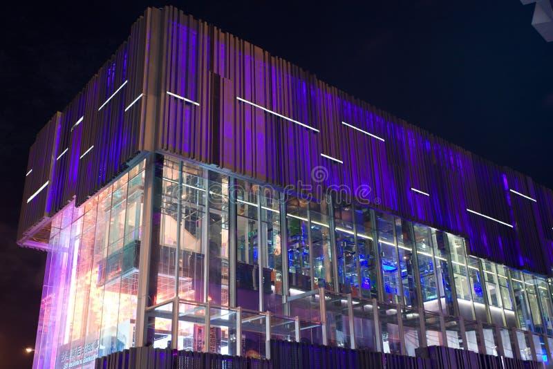 Pavillion 2010 Ausstellungc$shanghai-hong-Kong stockbild