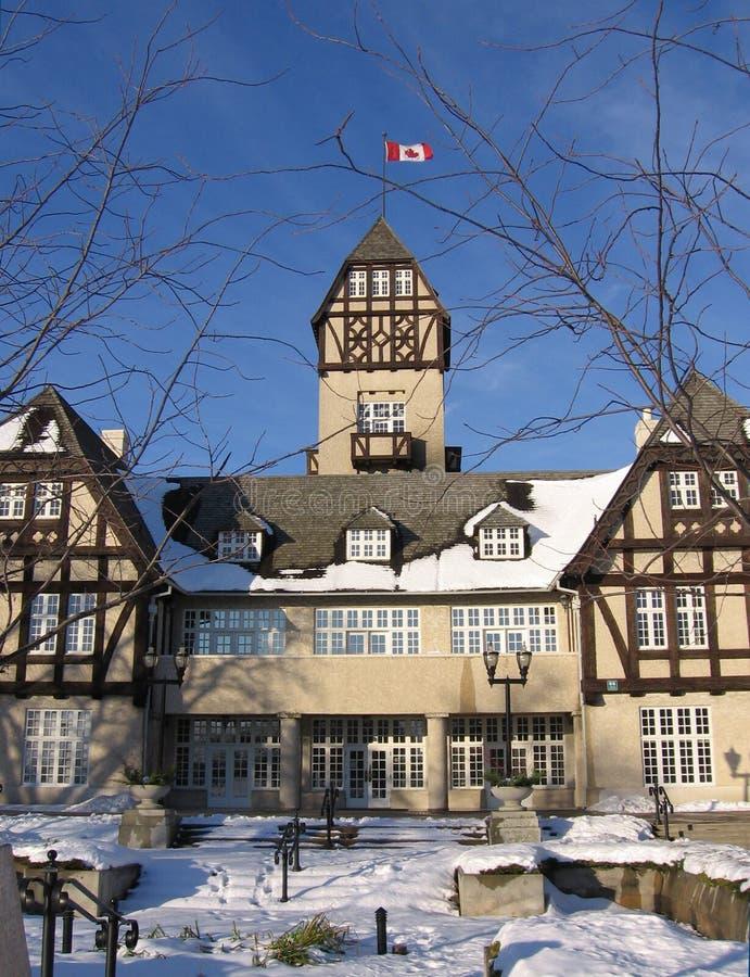 Pavillion Alla Sosta #2 Di Assiniboine Fotografie Stock Libere da Diritti