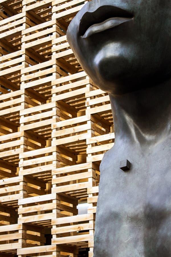 Pavillion de madeira fotos de stock