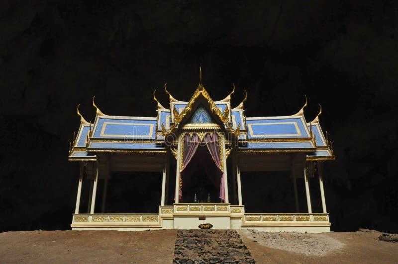 Pavillion der phraya Nakhon Höhle stockbild