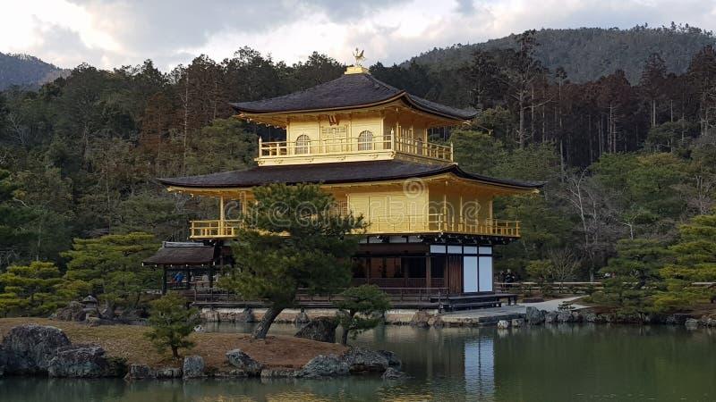 Pavillion dourado Kyoto foto de stock