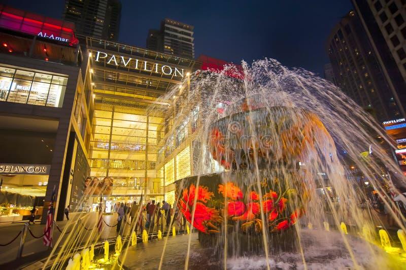 PAVILLION - KUALA LUMPUR fotografering för bildbyråer