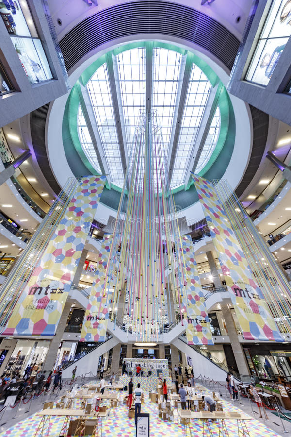 Pavillion Shopping Mall stock photography