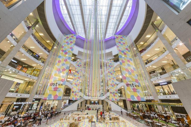 Pavillion Shopping Mall stock images