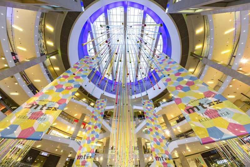 Pavillion Shopping Mall royalty free stock image