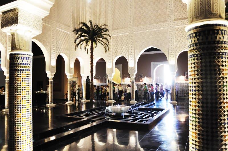 pavillon 2010 du Maroc d'expo de Changhaï image stock