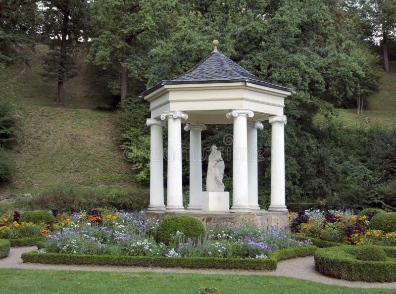 Pavillon al belvedere di Schloss fotografie stock libere da diritti